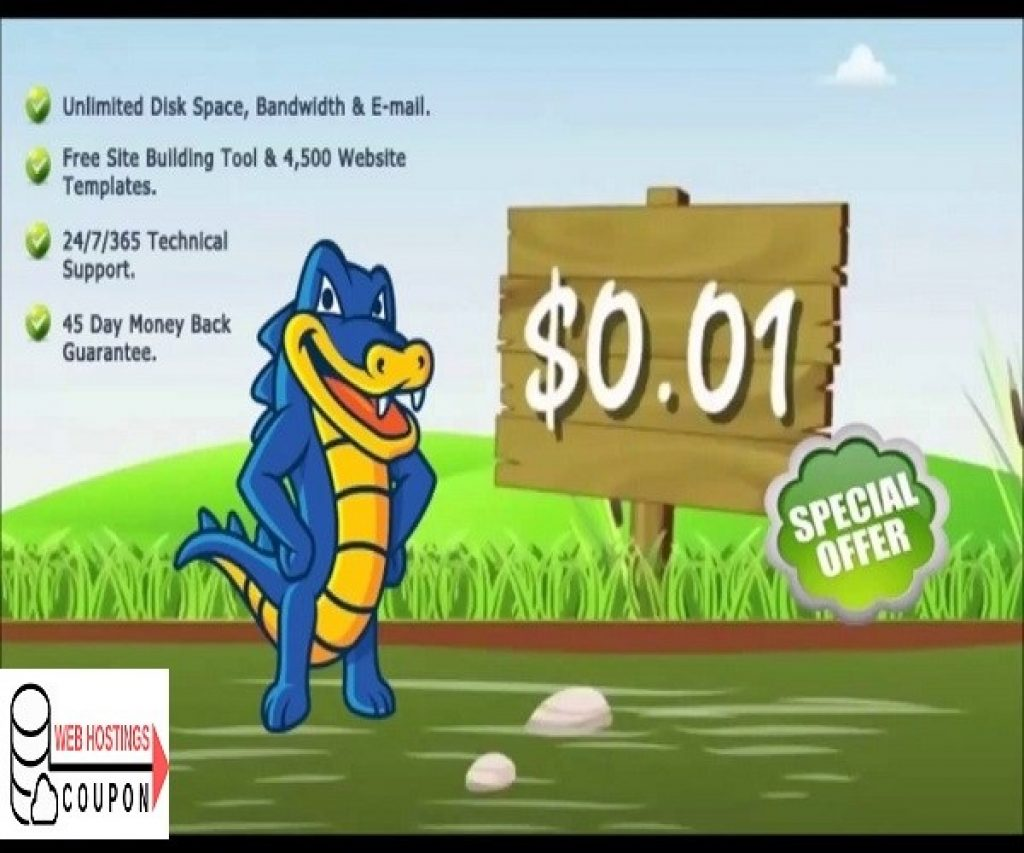 Hostgator 1 cent Coupon Code