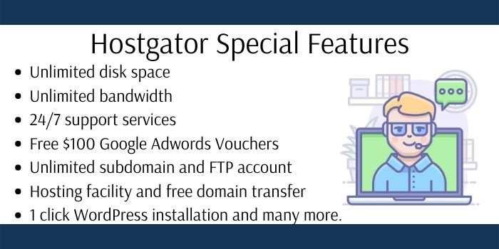 Hostgator Hosting Features