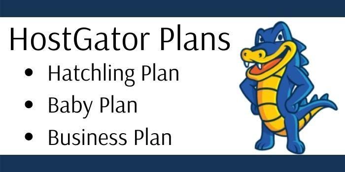 Hostgator Plans