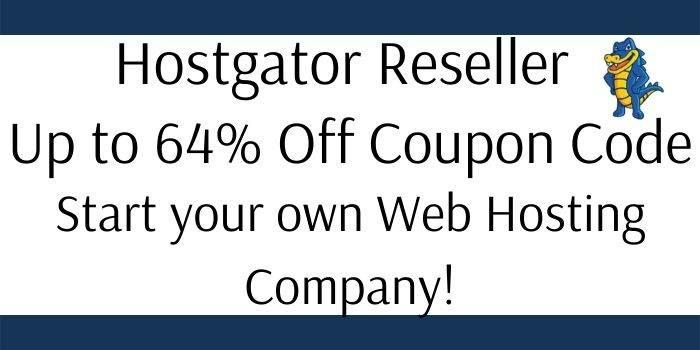 Hostgator Reseller Hosting Promo Code