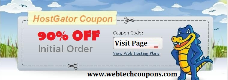 Hostgator 90 Off Coupon