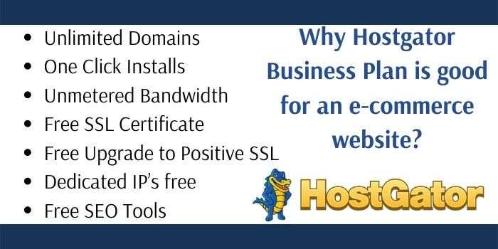 Hostgator Business Plan Features