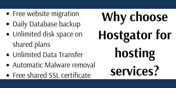 Why Choose Hostgator Hosting