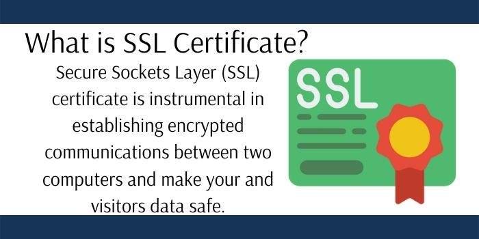 What SSL Certificate