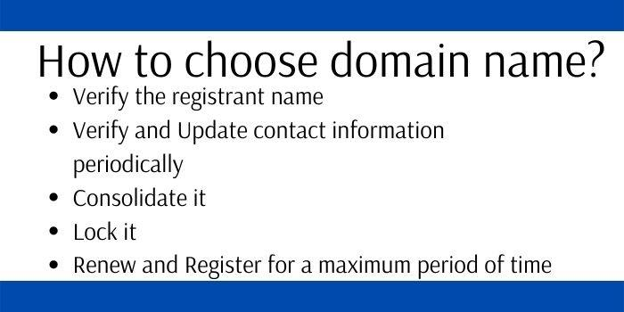 how to choose .org domain