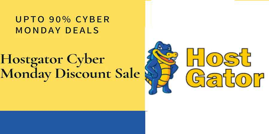 Hostgator Cyber Monday discount Deals