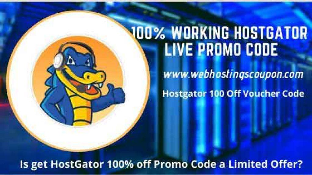 100% Working Hostgator Voucher code