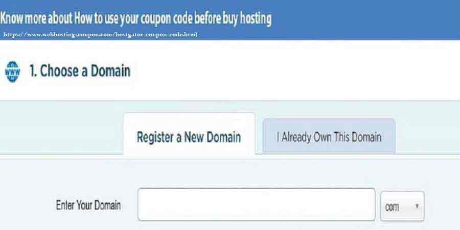 Choose your best Domain name