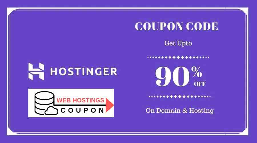 Hostinger Promo Code 2020