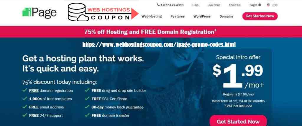 Ipage 1 dollar Hosting