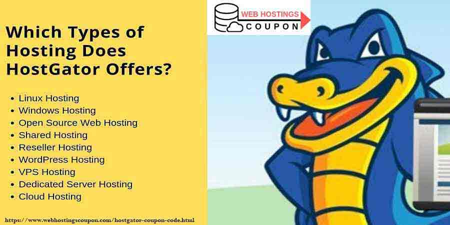 Which Types of Hosting Does HostGator Offers
