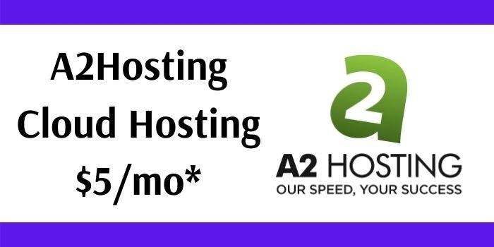 A2Hosting Cloud Hosting
