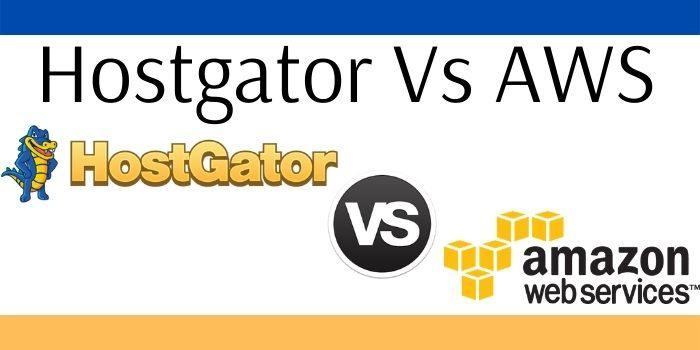 Hostgator Vs AWS