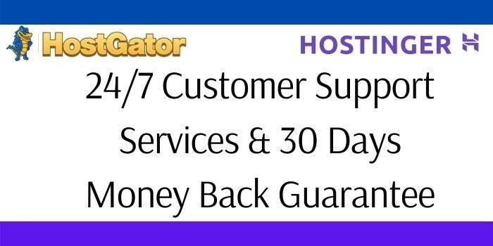 Hostgator Vs Hostinger Support Services