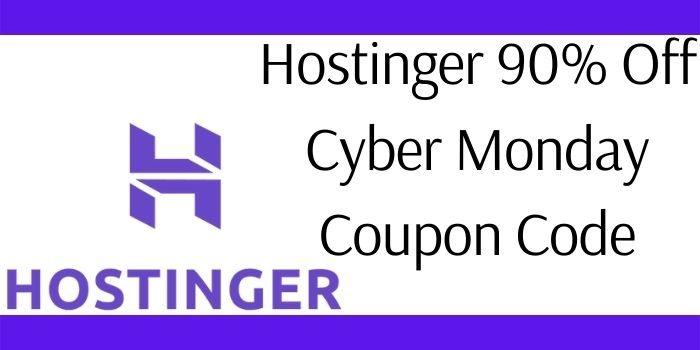 Hostinger Black Friday Coupon Code