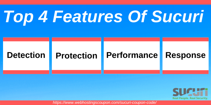 Top four features of Sucuri