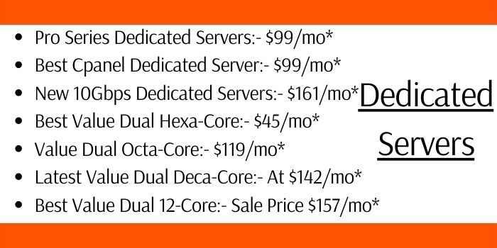Turnkey Internet Dedicated Server