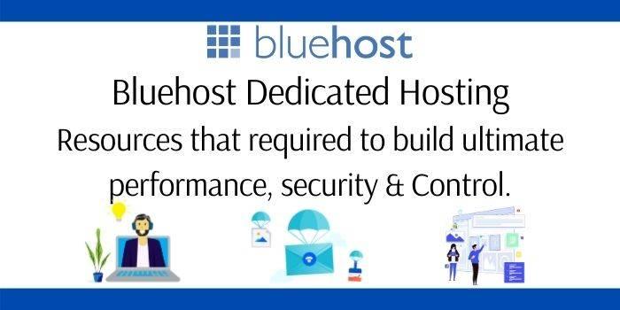 Bluehost Dedicated Hosting
