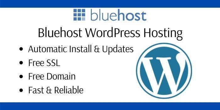 Bluehost WordPress Deals