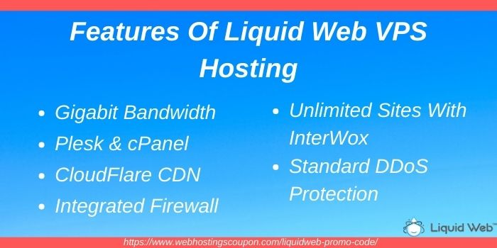 Features of liquid web VPS hosting