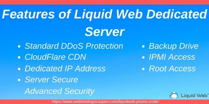 Features of liquid web dedicated server hosting