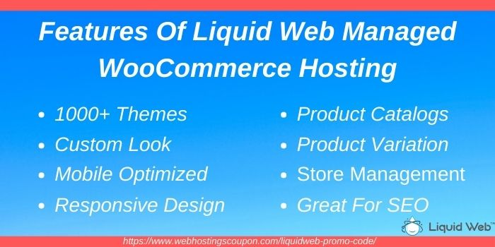 Features of liquid web managed woocommerce hosting