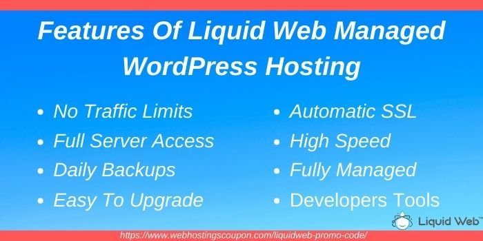 Features of liquid web managed wordpress hosting