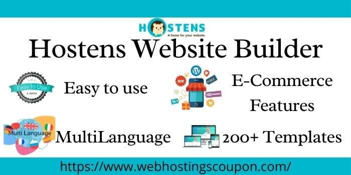 Hostens Free Website Builder
