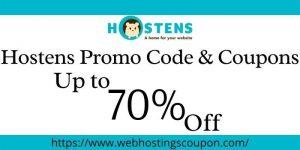 Hostens Promo Code