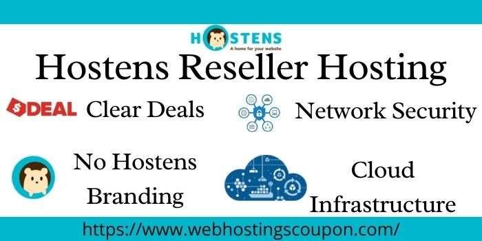 Hostens Reseller Hosting Deals