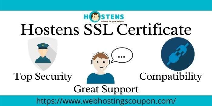 Hostens SSL Certificate