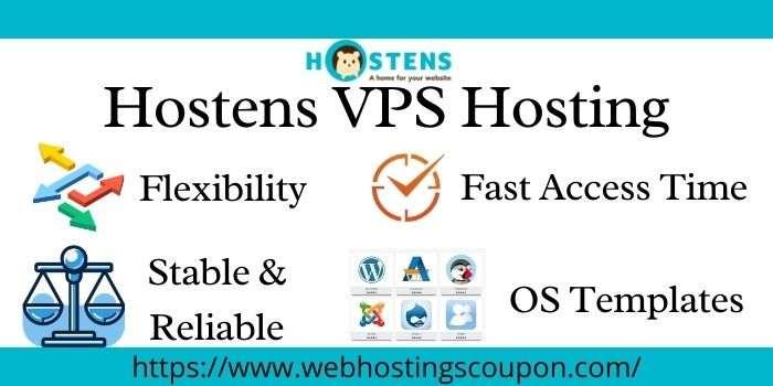 Hostens VPS Hosting Coupons
