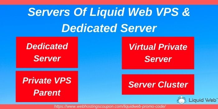 Types of Liquid Web VPS & Dedicates Server