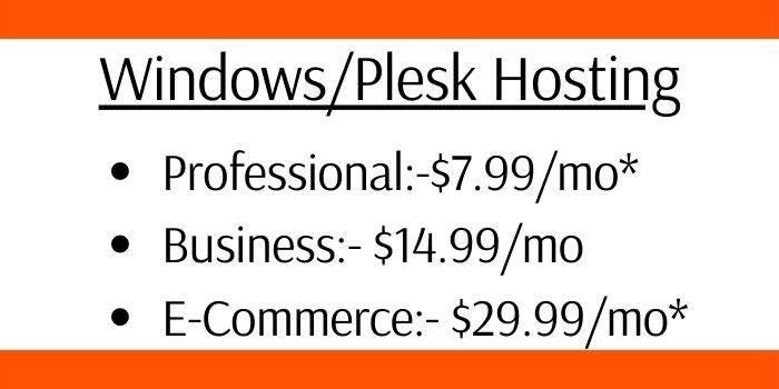 Windows_Plesk Hosting
